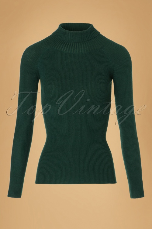 Collectif Clothing Olive Knitted Turtleneck top 113 40 18901 20161010 0001W