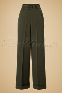 Dancing Days by Banned Hidden Away Olive Trousers 131 40 19715 20161011 0002w