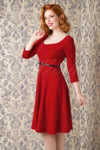 Vintage chic Marcella Red  wing Dress 102 20 16236 20150925 12WV