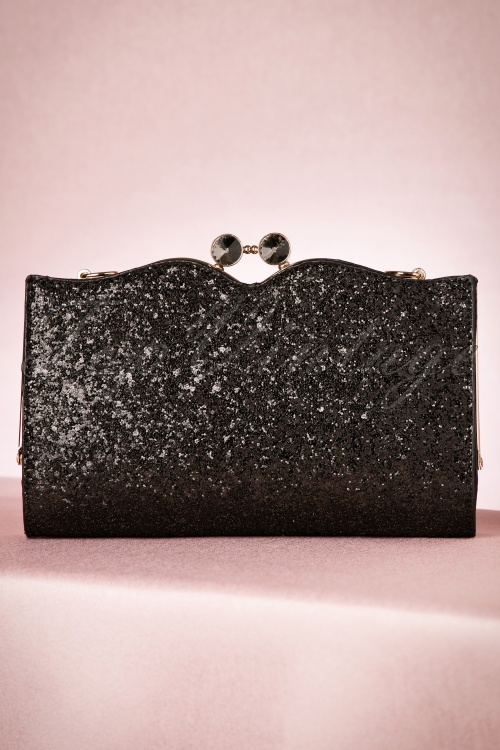 Dancing Days by Banned Simone Glitter Clutch 210 10 19975 10122016 015W
