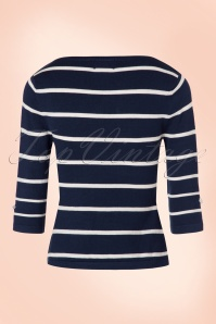 WDancing Days by Banned Stripes Please Blue and White Shirt 113 39 19753 20161011 0007