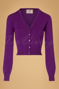 Dancing Days by Banned Little Luxury Purple Cardigan 140 60 19767 20161011 0007w