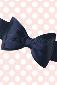 Banned Bow Belt in Navy 230 31 20063 20160308 0004W