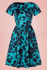 Lady V Blue Semi Swing Dress 102 39 20039 20161013 0003W