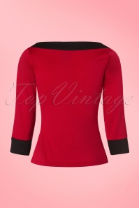 Steady Clothing Solid Boatneck Shirt in Red 113 20 19537 20161013 0015w