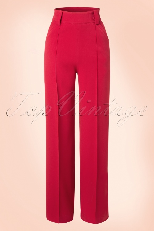 Miss Candyfloss Vintage Trousers 131 20 16255 20151203 0007W