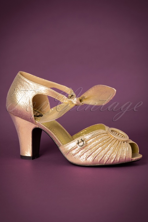 Miss L Fire Loretta gold Sandal 402 91 18789 10132016 008W