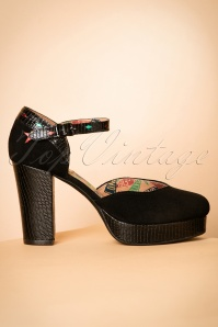 Miss L Fire Christie Pump in black 402 10 18779 10132016 005W