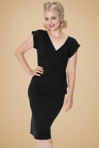 Dancing Days By Banned Evening Chic Navy Blue Pencil Dress 100 31 19719 20161014 0007