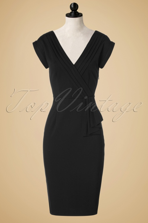 Dancing Days By Banned Evening Chic Navy Blue Pencil Dress 100 31 19719 20161014 0006pop