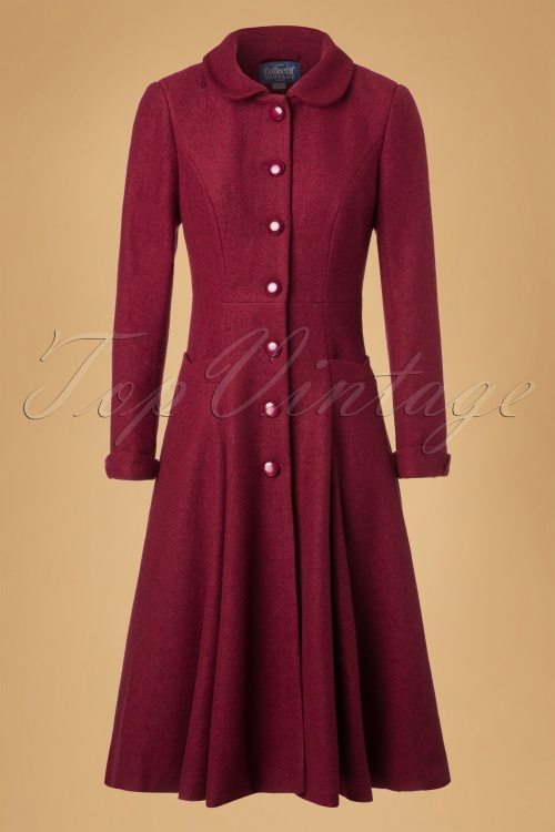 Collectif Clothing Vintage Lillian Winter Coat 152 20 20309 20161019 0005W