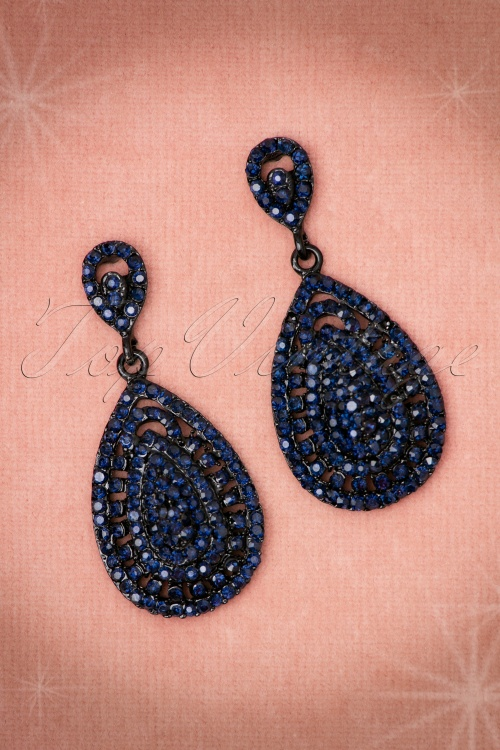 Glamfemme Blue Diamant Earrings 333 30 20306 10192016 005aW