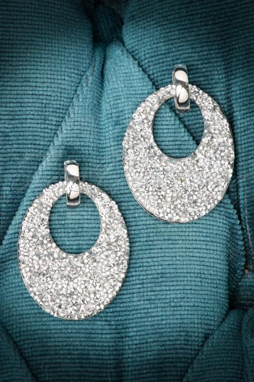 Glamfemme Crystal Round Earrings 335 92 20303 10192016 003W