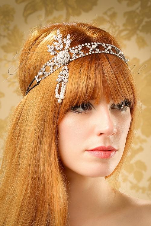Kaytie Crystal Hairband 208 92 20122 model01W