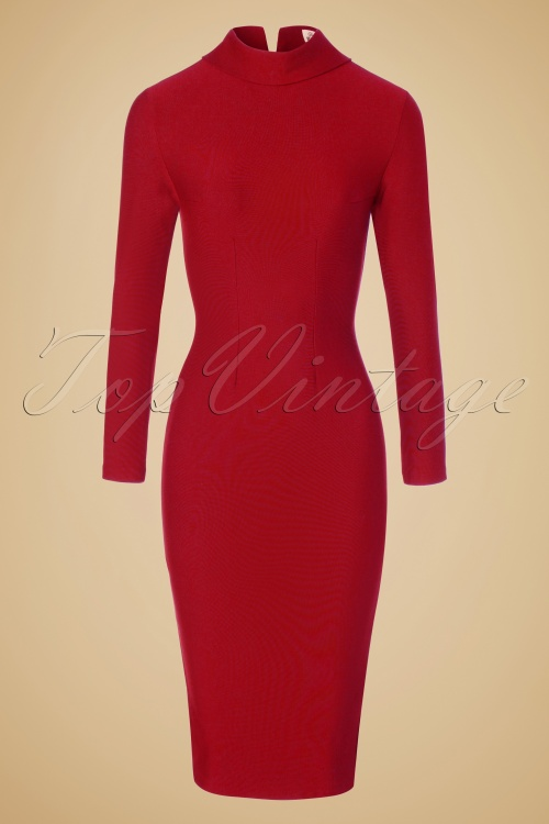 Glamour Bunny Lauren Pencil Turtleneck Dress 100 40 19689 20161014 0002W