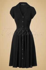Bunny Keely Swing Dress in Black 102 20 19562 20161013 0008W