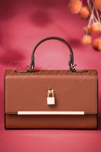 60s Bobby Box Bag in Hazel