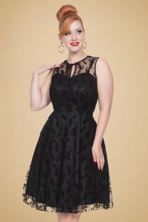 Vixen 30s Classy Black Lace Dress 102 10 19492 20161021 1