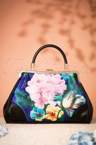 50s Eden Floral Retro Handbag