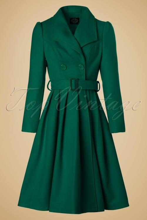 Hearts & Roses Green Winter Coat  152 20 19994 20161010 0008W