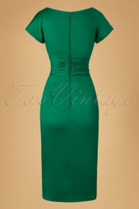 House of Foxy Dolce Vita Green Dress 100 40 20051 20161025 0018w