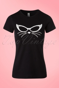 Kittees Cool Kitten Black T shirt 111 10 20018 20161025 0001W