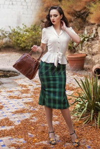 Vixen Agnes Green Pencil Skirt 120 49 19457 20161005 0025W