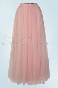 Little Mistress Maxi Tulle Rose Sparkling Skirt 129 22 20477 20160518 0026W