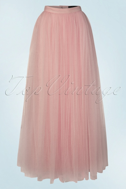 Little Mistress Maxi Tulle Rose Sparkling Skirt 129 22 20477 20160518 0026W
