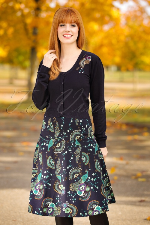 Dancing Days by Banned Proud to Peacock Skirt 122 39 19710 20161011 0007wModelfotoW