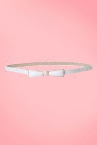 Tatyana Bow Belt White 230 50 10658