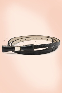 Tatyana Bow Belt Black 230 10 10656c
