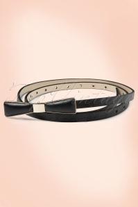 Tatyana Bow Belt Black 230 10 10656c