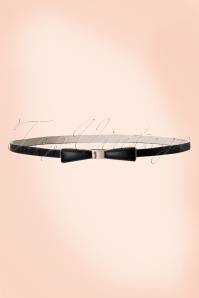 Tatyana Bow Belt Black 230 10 10656a