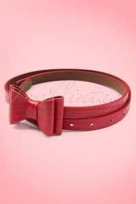 Tatyana Bow Belt Red 230 20 10661a