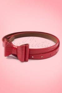 Tatyana Bow Belt Red 230 20 10661a