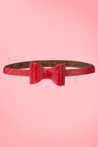 50s Bow Belt in Red