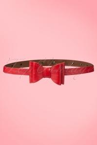Bow Belt Années 60 en Rouge