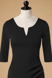 Vintage Chic Black Pencil Dress 100 10 19627 20161031 0009cdoll