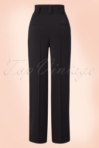 Miss Candyfloss Black Vintage Trousers 131 10 16256 20151203 0003WA
