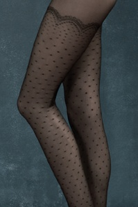 Fiorella Mystery Black Golden Line Catalana Tights 171 10 20400d