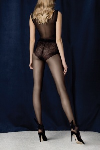 50s Charm Tights in Black
