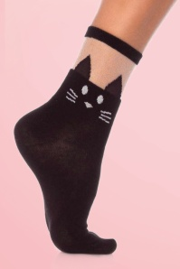 Rouge Royale Black Cat Opaque Anklet 179 10 20419d