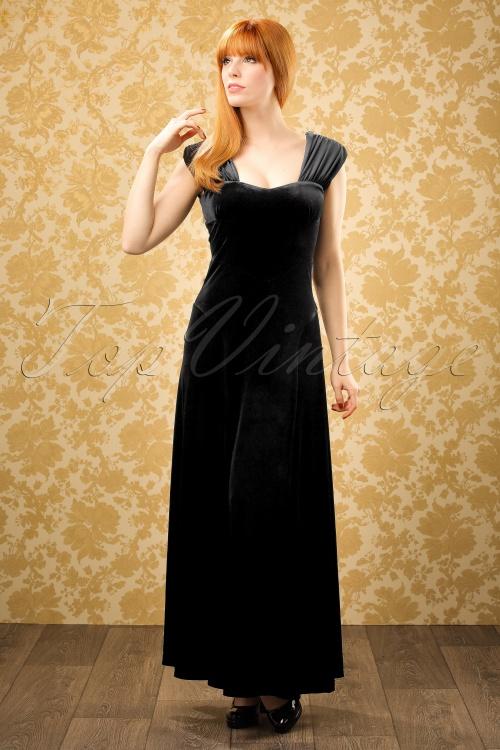 Bunny Geraldine Black Velvet Dress 108 10 19553 20161007 0010WModelfotow