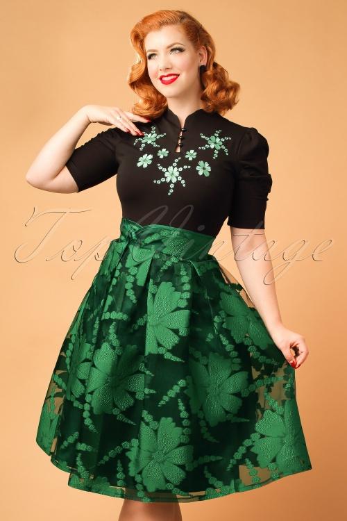 Vixen Jasmine Green Skirt 122 40 19455 20161005 0014aModelfotow