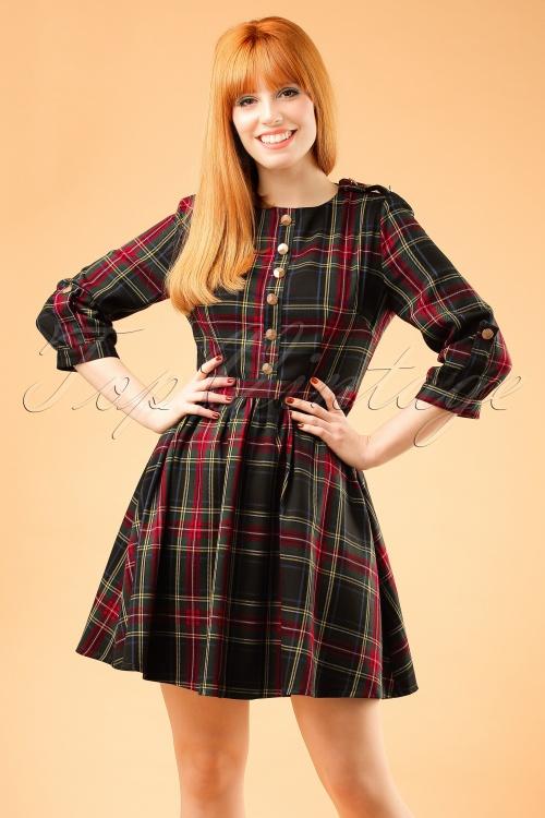 Minueto Scotch Dress in Green 102 49 18841 20161010 0016WModelfotoW