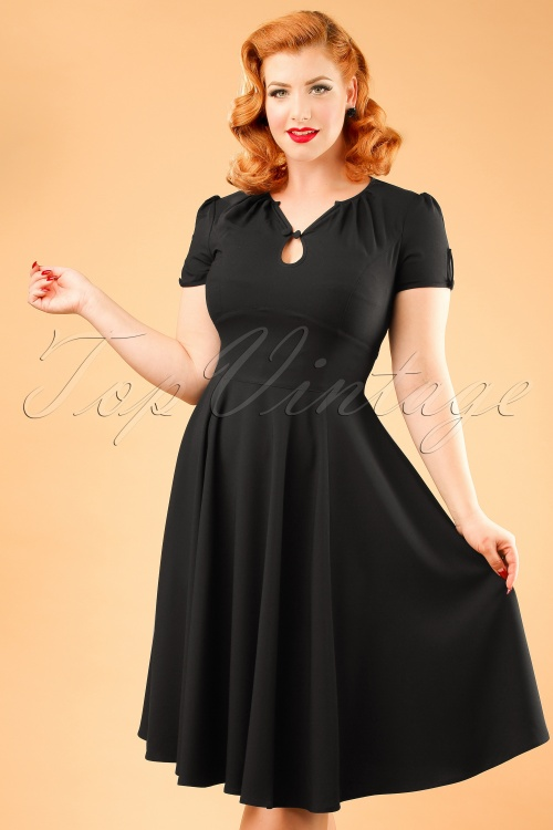 Bunny Riley Dress in Black 102 31 19554 20161007 00019 ModelfotoW