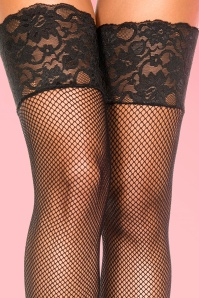 Lovely Legs Black Lace Tights 172 10 20413d