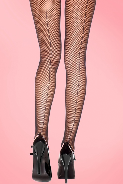 Backseam fishnet Tights 171 10 20416a
