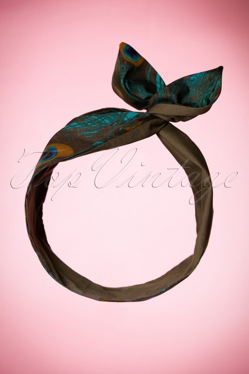 Be Bop A Hairbands Black Peacock Hairband 208 14 20503 11072016 002W